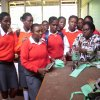 All Saints Secondary School Student's on an educational tour to the Textile & Technology Department on September, 2014